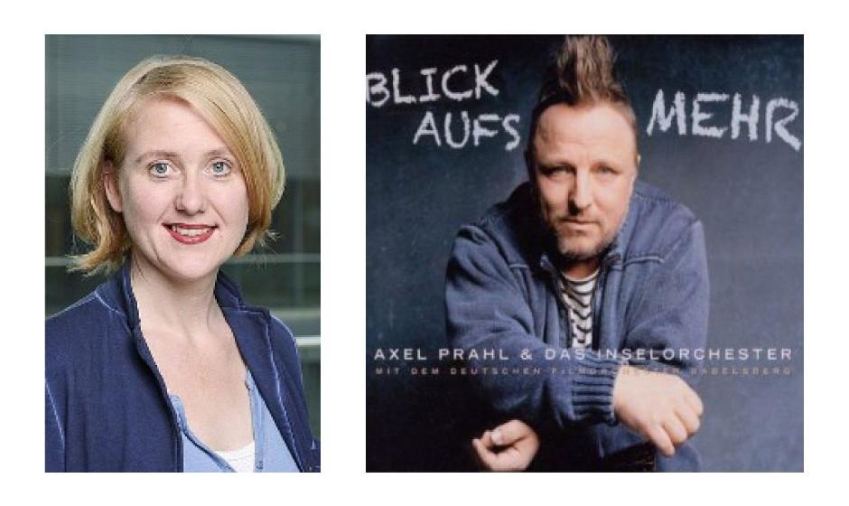 "Lisa Paus (47) (Bündnis90/Die Grünen) Axel Prahl & Inselorchester – ""Blick aufs Mehr"""