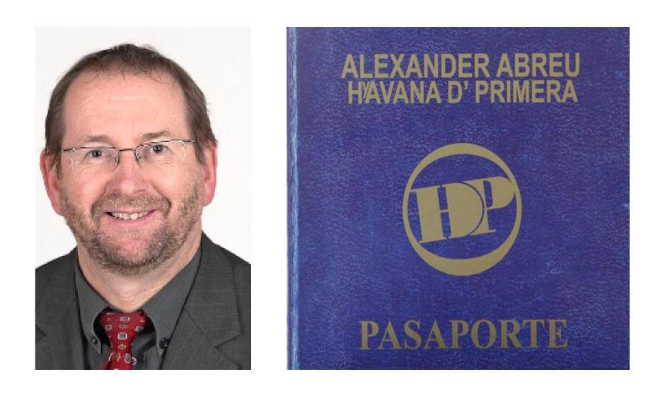 """Richard Pitterle (56) (DIE LINKE) Alexander Abreu y Havana D'Primera - """"Pasaporte"""""""