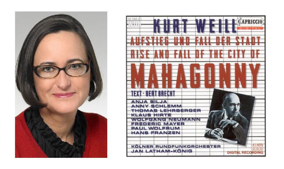 """Martina Renner (48) (DIE LINKE) Kurt Weill und Berthold Brecht – """"Aufstieg und Fall der Stadt Mahagonny (1956)"""""""