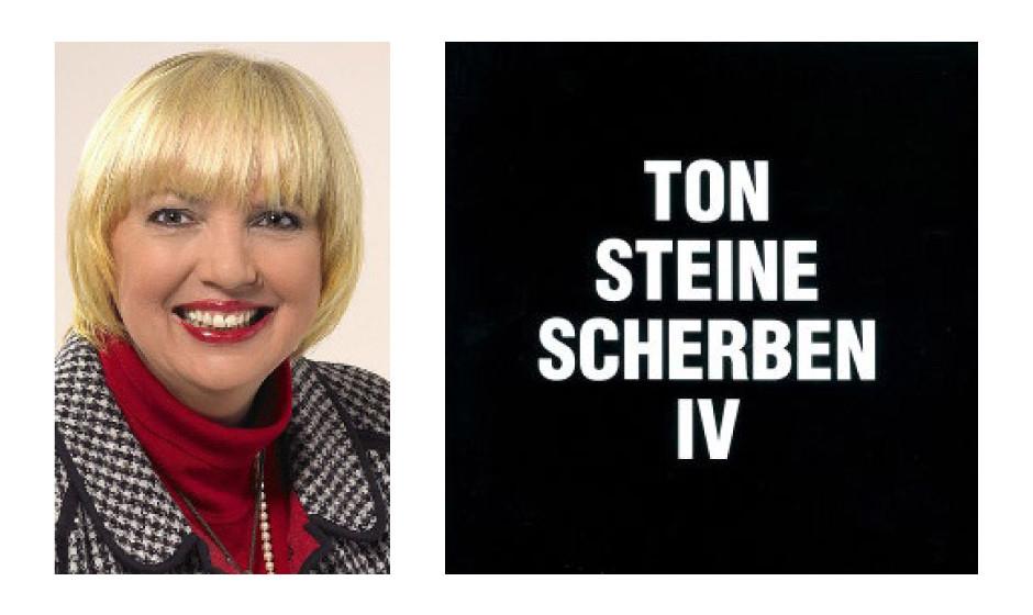 """Claudia Roth (60) (Bündnis 90/Die Grünen) Ton Steine Scherben – """"IV"""""""
