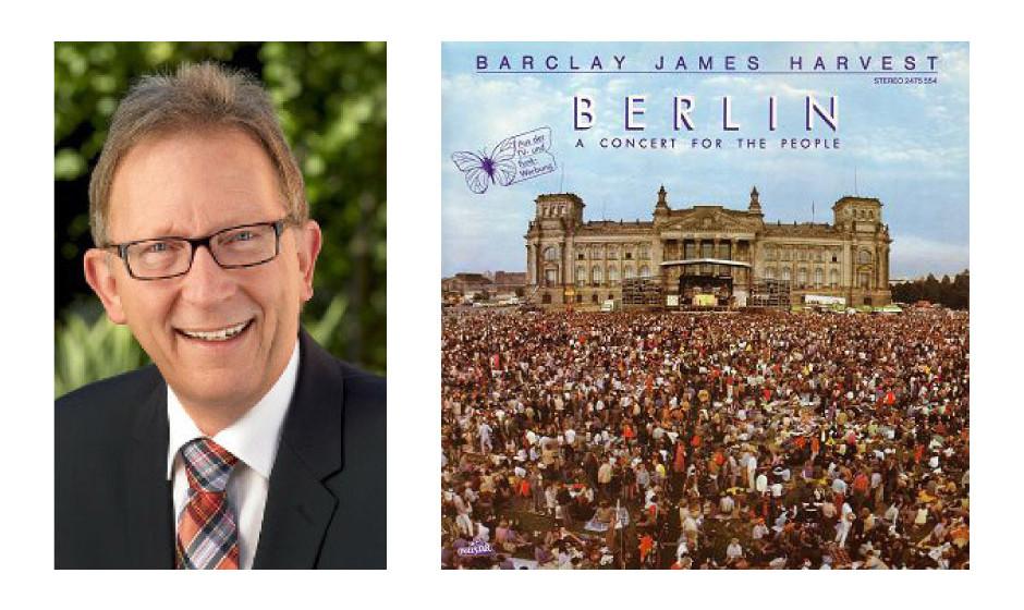 """Erwin Rüddel (59) (CDU) Barclay James Harvest – """"A Concert For The People (Berlin)"""" """"Das Lied 'Hymn' ist mein Lieblingssong. Musikalisch hat BJH die Wiedervereinigung schon vorweg genommen."""""""