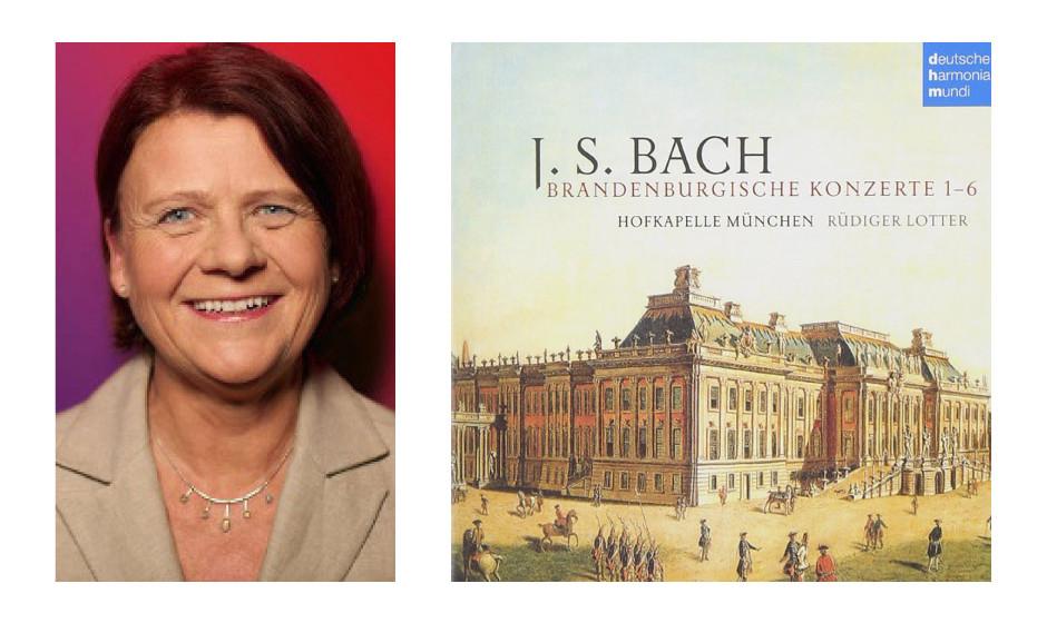 "Annette Sawade (62) (SPD) Johann Sebastian Bach – ""Brandenburgische Konzerte"" ""Bin ein großer Klassikfan, höre dann am liebsten zur absoluten Entspannung die Brandenburgischen Konzerte."""