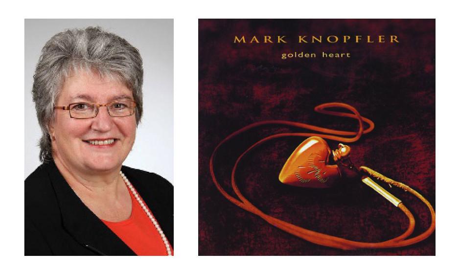 """Gabriele Schmidt (59) (CDU) Mark Knopfler – """"Golden Heart"""""""