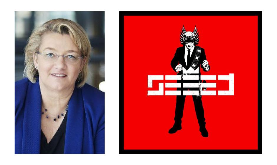 """Kordula Schulz-Asche (58) (Bündnis90/Die Grünen) SEEED – """"Seeed"""" """"…weil ich damit in Ruhe abschalten kann"""""""