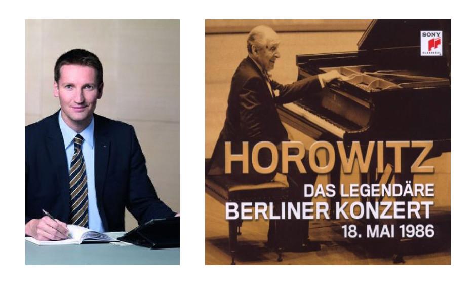 "Prof. Dr. Patrick Sensburg (44) (CDU) Vladimir Horowitz – ""Das legendäre Berliner Konzert"""