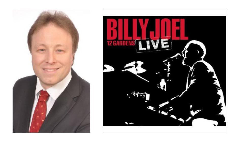 """Sebastian Steineke (42) (CDU) Billy Joel – """"12 Gardens Live"""""""