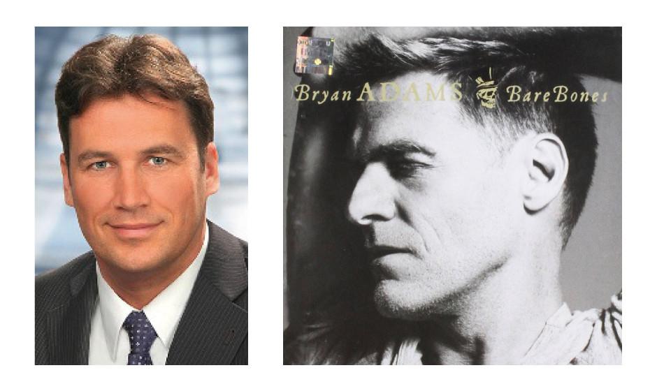 """Christian Frhr. Von Stetten (45) (CDU) Bryan Adams – """"Rare Bones Live"""""""