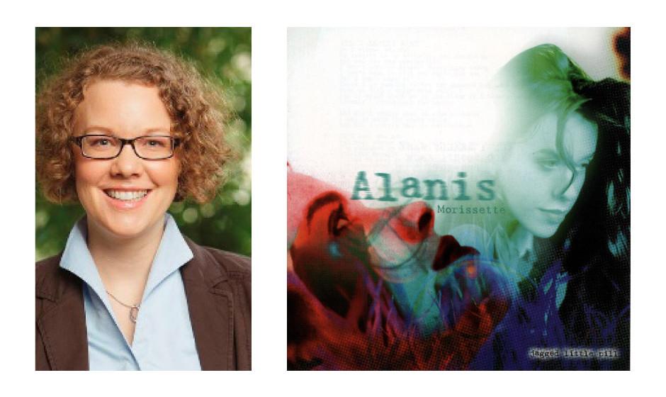 """Dr. Julia Verlinden (36) (Bündnis90/Die Grünen) Alanis Morissette – """"Jagged Little Pill"""""""