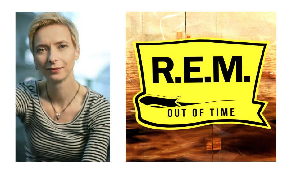 """Halina Wawzyniak (42) (DIE LINKE) R.E.M. – """"Out Of Time"""""""