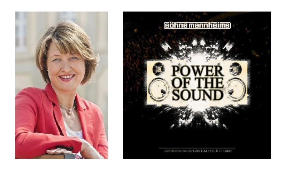"""Dr. Anja Weisgerber (39) (CSU) Söhne Mannheims – """"Power Of The Sound"""""""