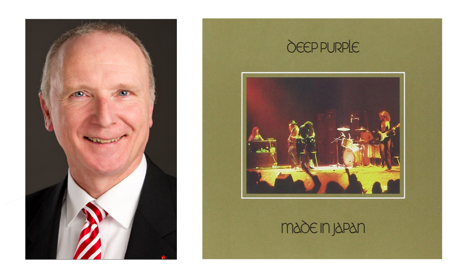 """Bernd Westphal (55) (SPD): Deep Purple – """"Made in Japan"""""""
