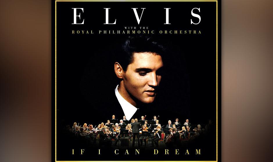 """Für """"If I Can Dream"""" wurden Elvis Songs klassisch arrangiert und mit dem Royal Philharmonic Orchestra gespielt."""
