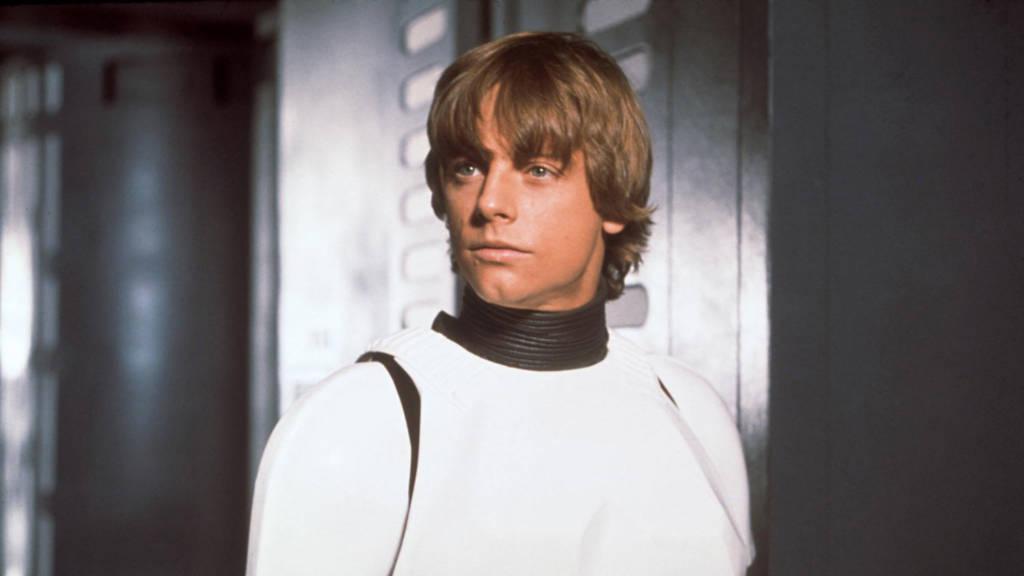 """Luke Skywalker in Stormtrooper-Verkleidung in """"Star Wars: Episode IV - Eine neue Hoffnung"""""""