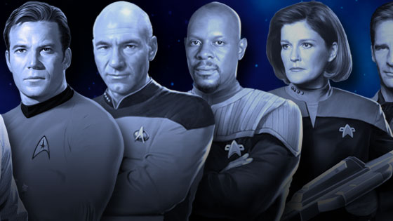 """Star Trek""-Captains"