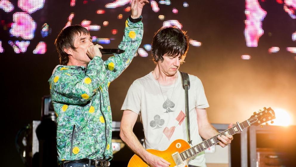 The Stone Roses live 2012 beim V Festival, Großbritannien.