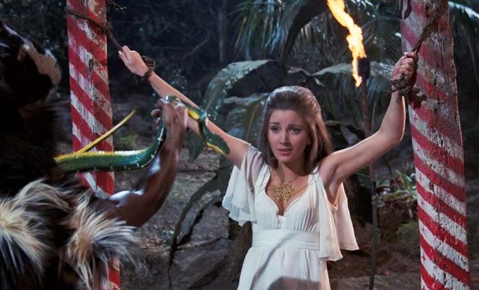 Unserer Meinung nach eines der besten Bond-Girls: Solitaire (Jane Seymour)