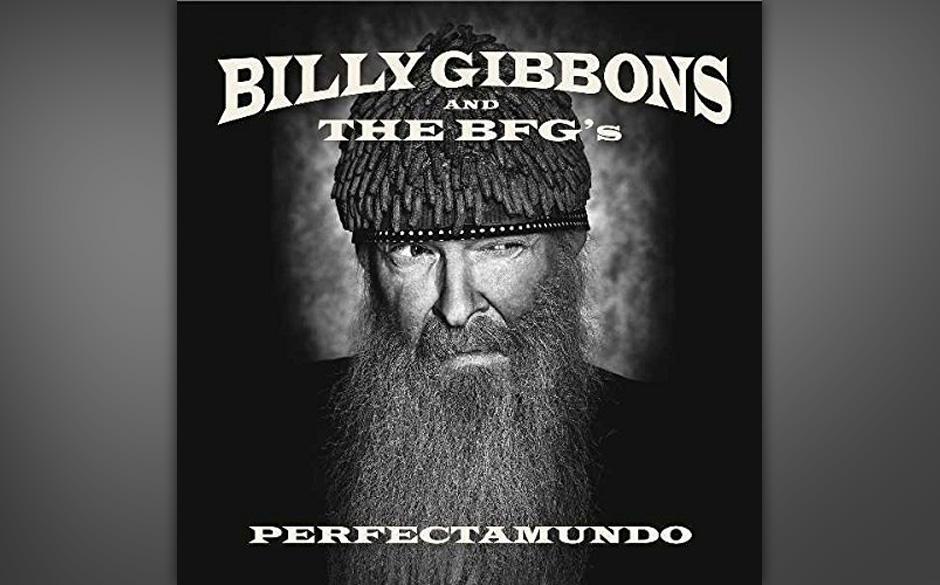 """Billy Gibbons von ZZ Top kombiniert mit The BFG's auf """"Perfectamundo"""" Timbales und Texas-Boogie."""