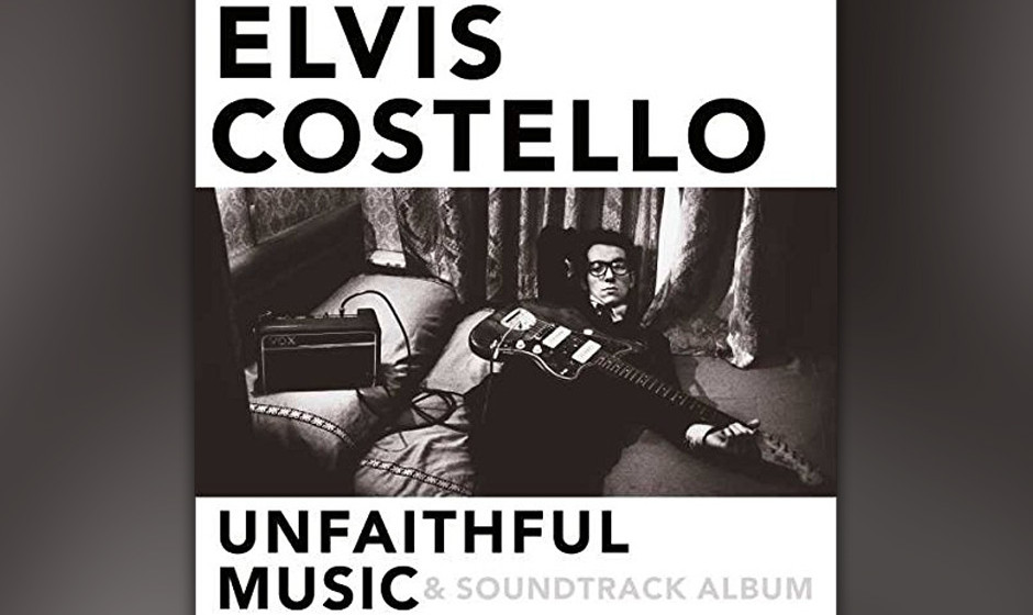 """Unfaithful Music & Soundtrack Album"" ist die Compilation zu Elvis Costellos Memoiren, die am 09. November erscheinen."