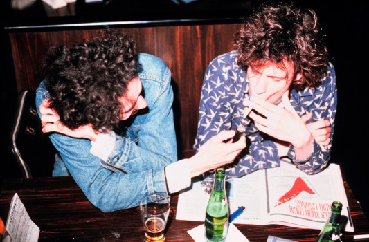 Slim Dunlap (L) und Paul Westerberg (R) (1987)