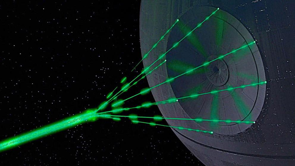 """Den Todesstern aus """"Star Wars"""" gibt es jetzt auch als Waffel."""