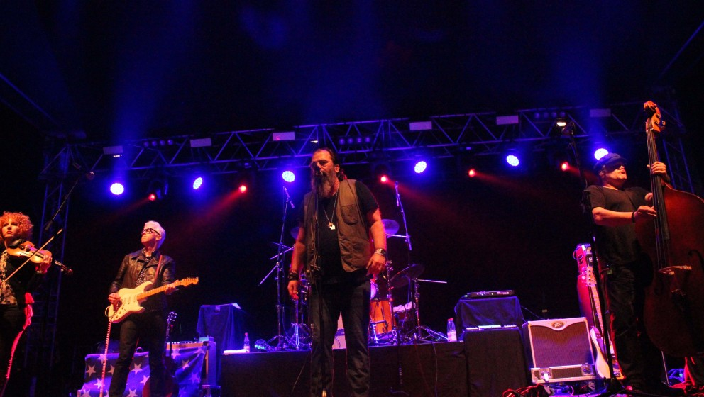 Steve Earle & The Dukes beim Rolling Stone Weekender 2015