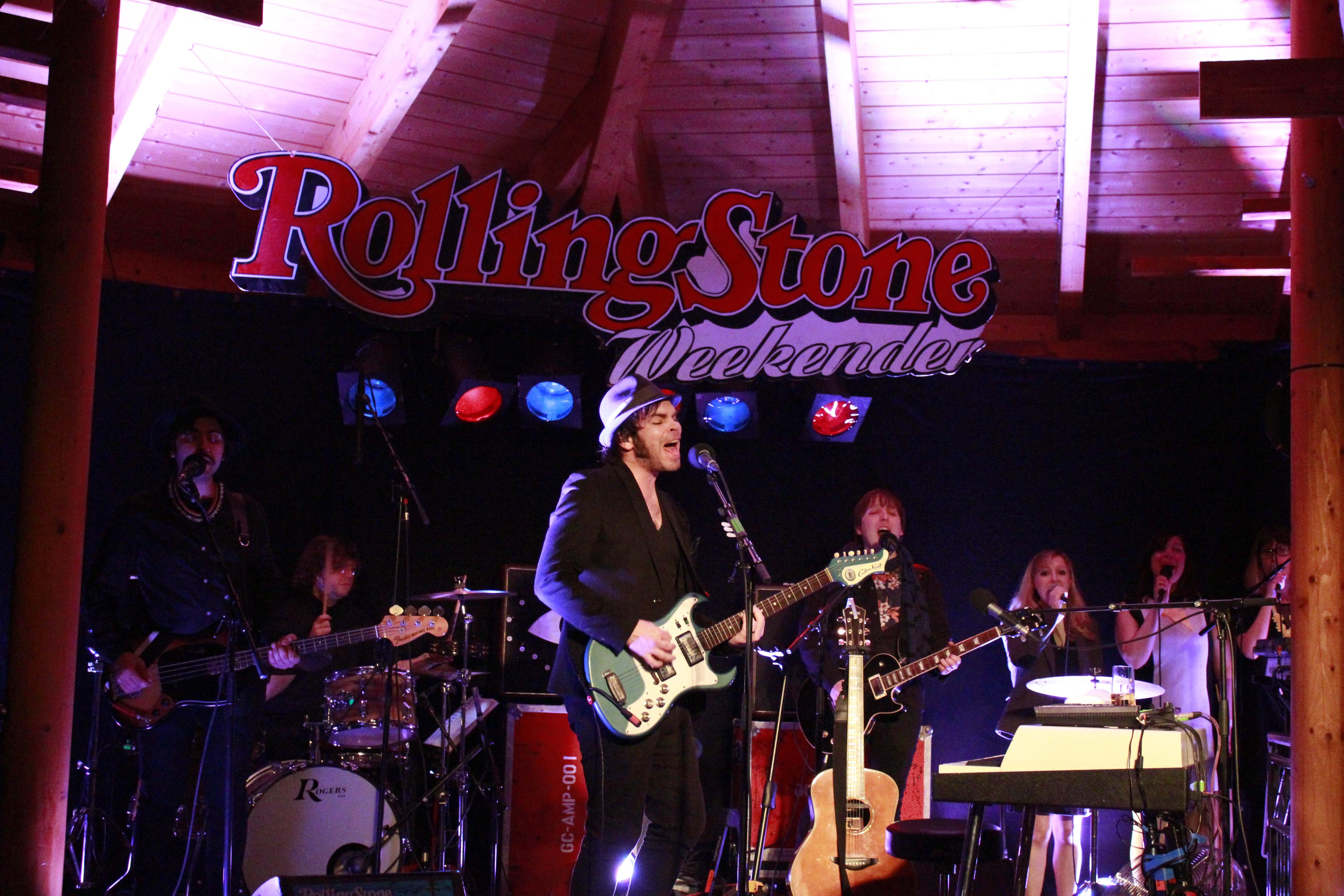 Gaz Coombes live beim ROLLING STONE Weekender 2015