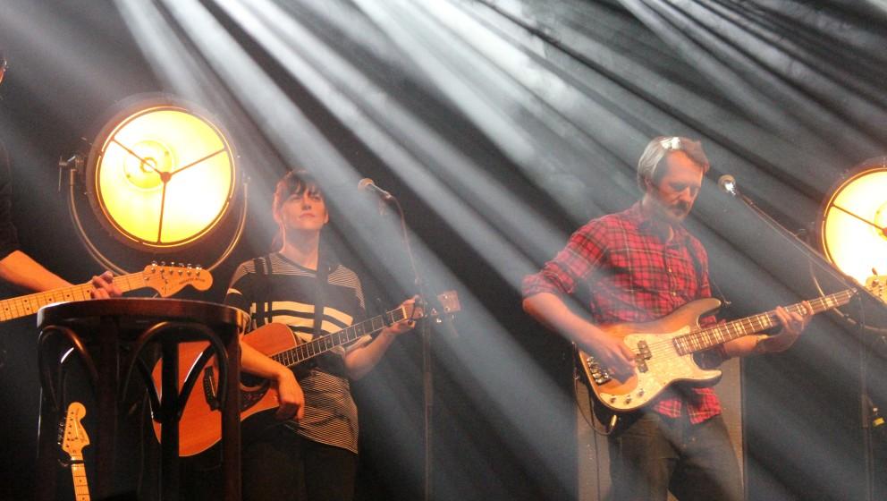 Gisbert zu Knyphausen in der Band von Olli Schulz live beim ROLLING STONE Weekender 2015
