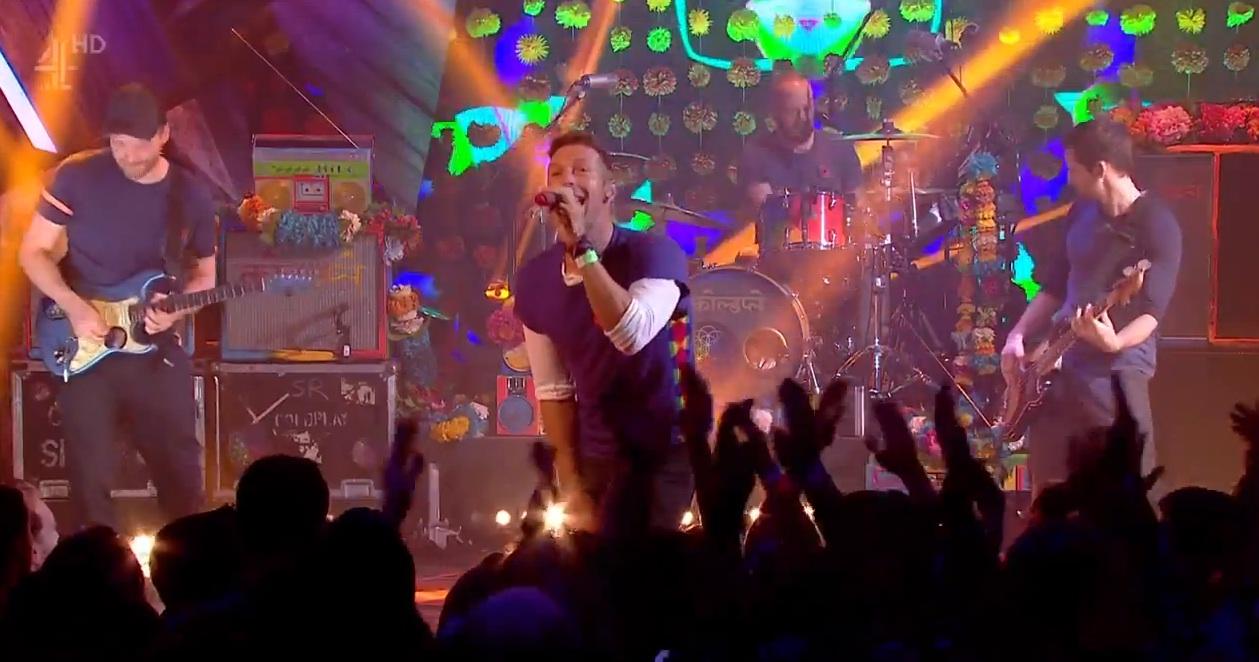 Wieder lebensfroh: Coldplay führen zum ersten Mal 'Adventures Of A Lifetime' auf