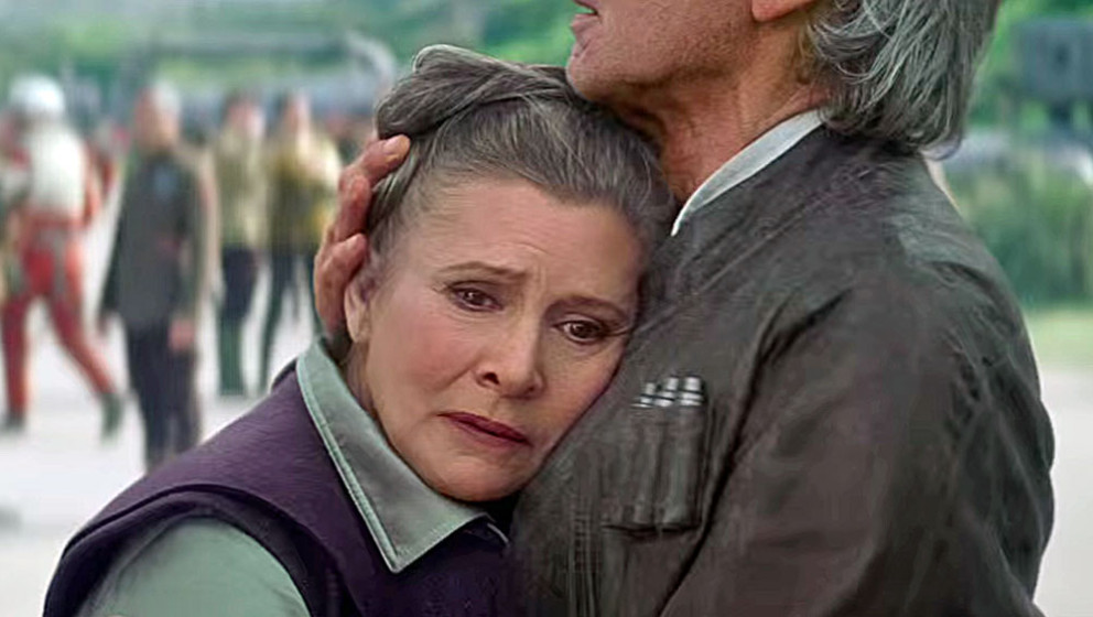 """Carrie Fisher als Prinzessin Leia in """"Star Wars: Das Erwachen der Macht"""""""