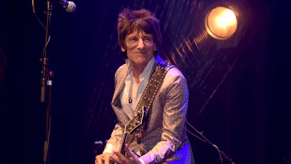 Nun macht auch Ronnie Wood Hoffnungen auf ein neues Album der Rolling Stones