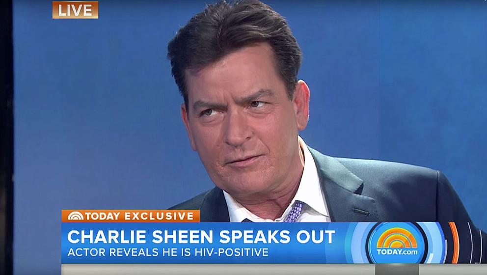 Schauspieler Charlie Sheen ist HIV-positiv