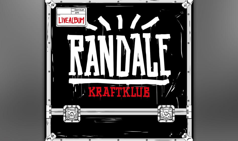 """Die Chemnitzer von Kraftklub veröffentlichen ein Live-Album mit dem Titel """"Randale Live"""""""