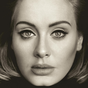 Adeles offizielles Album-Cover von '25'