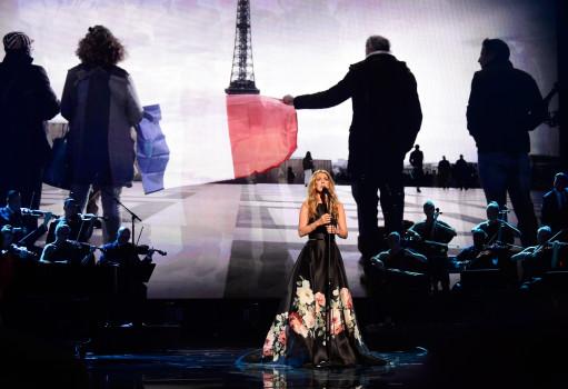 Rührender Auftritt von Céline Dion am Sonntag (22. November) in L.A: