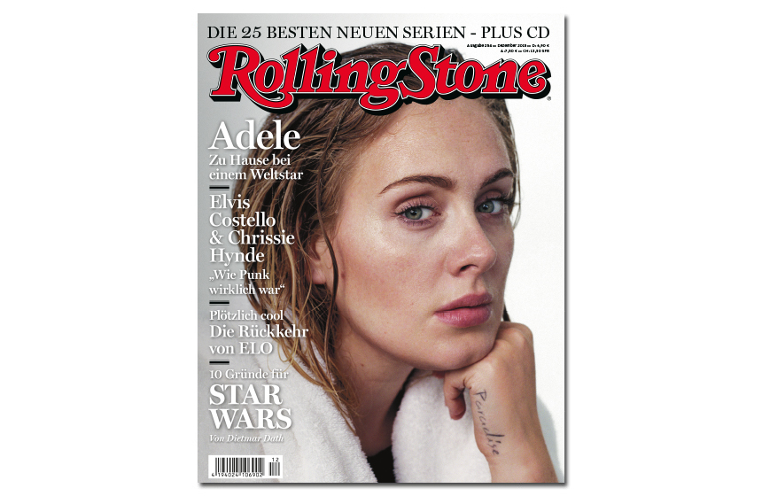 Im Dezember auf dem Cover des ROLLING STONE: Adele