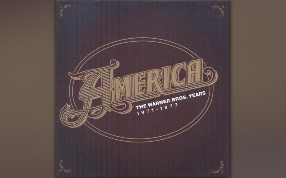 """America: """"The Warner Bros. Years 1971–1977"""". Softrock-Epigonentum der  70er-Jahre im Kompaktschuber."""