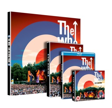 The Who - Live In Hyde Park - 3D Boxes