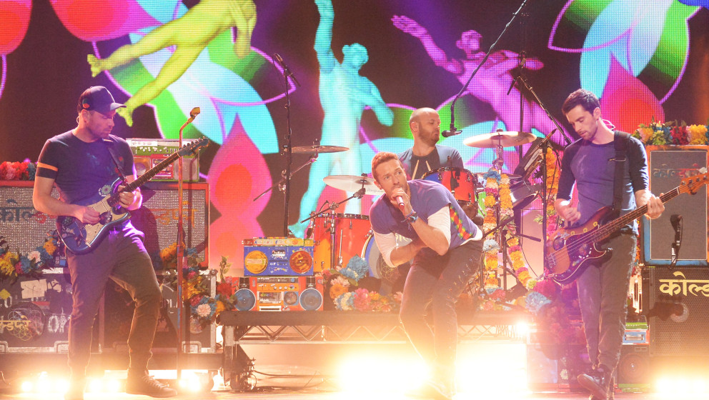 "Coldplay live bei den ""American Music Awards"" in Los Angeles, 22. November 2015"