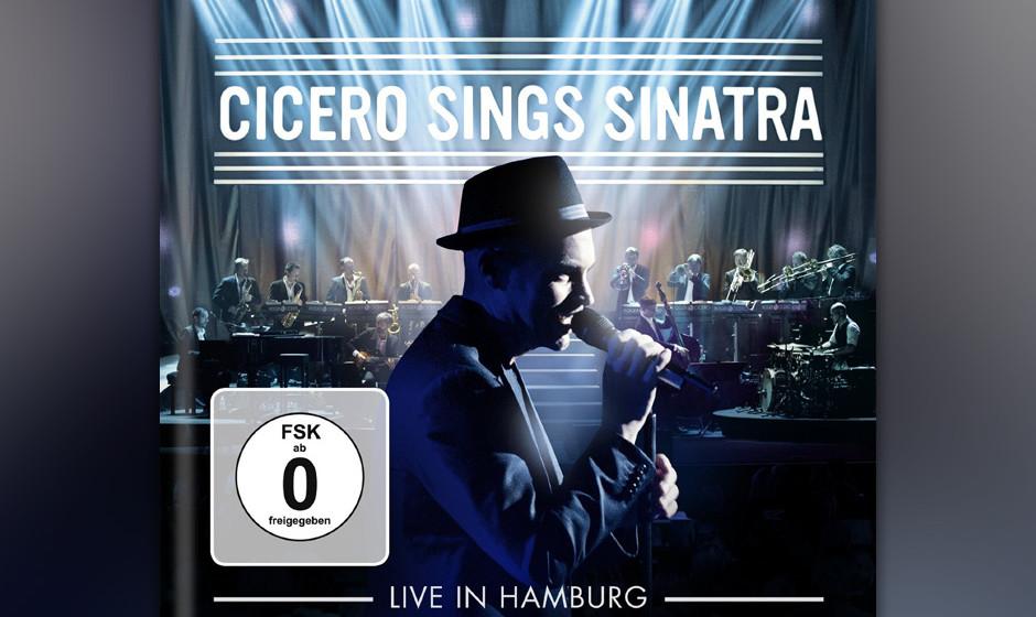 """Als Jazz-Sänger wäre es fast Frevel, Frank Sinatra nicht zu schätzen. Roger Cicero hat mit """"Cicero Sings Sinatra"""" ein Konzert mit seinen Songs aufgenommen"""