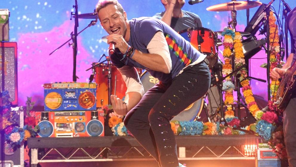 Chris Martin tut seit Jahren alles dafür, cool zu sein