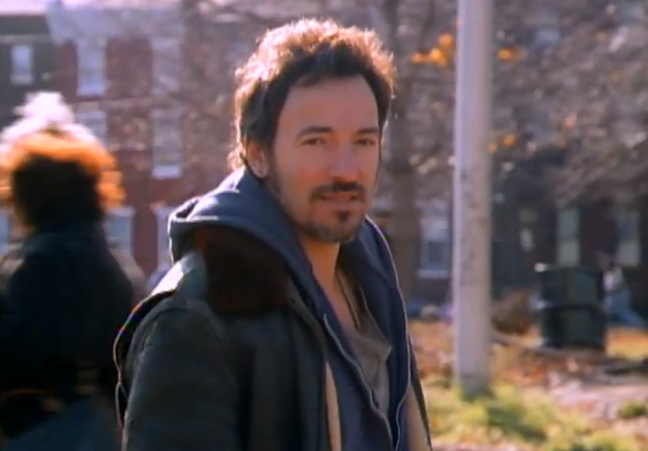 Bruce Springsteen im Video zu seinem Song 'Streets Of Philadelphia'