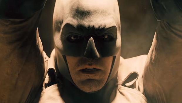 Batman hat sichtlich Angst vor Superman.