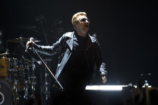 U2 live in Glasgow am 6. November 2015