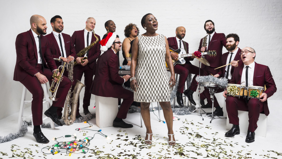 Brooklyn, NY - March 7, 2015 - Sharon Jones and the Dap-Kings Christmas.