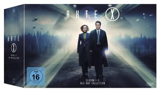 """""""Akte X Season 1-9 Complete Collection"""" erscheint am 21.12.2015 auf Blu-ray."""