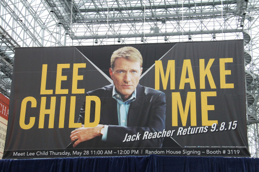 NEW YORK, NY - MAY 28: Lee Child attends BookExpo America 2015 at Javits Center on May 28, 2015 in New York City. (Photo by Laura Cavanaugh/Getty Images)
