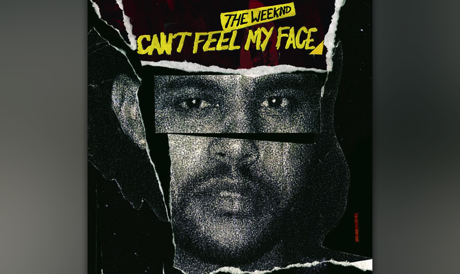 "1. The Weeknd: ""Can't Feel My Face"""