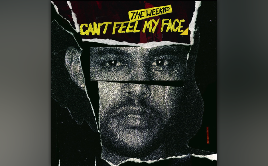 """1. The Weeknd: """"Can't Feel My Face"""""""
