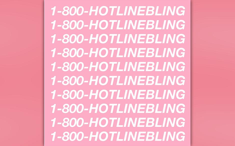 """3. Drake: """"Hotline Bling"""""""