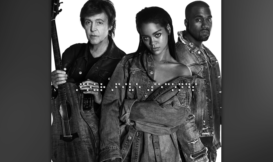 "36. Rihanna, Kanye West and Paul McCartney: ""FourFiveSeconds"""